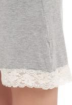 Poppy Divine - Onesie with lace trim
