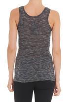 STYLE REPUBLIC - Slub knit vest in grey