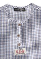 Sticky Fudge - Benjamin shirt in blue check
