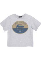 Sticky Fudge - Adam T-shirt in grey melange