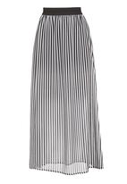 STYLE REPUBLIC - Maxi skirt in black and white