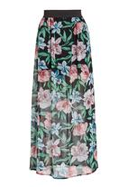 STYLE REPUBLIC - Chiffon maxi skirt in multi-colour
