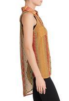 edge - Printed blouse in multi-colour