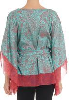 Maya Prass - Kaftan with tie belt Pink