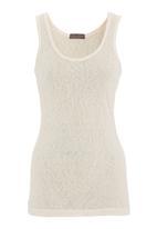 STYLE REPUBLIC - Slub knit vest in neutral