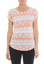 SASS - Aztec wave T-shirt