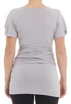 Me-a-mama - Flutter-sleeve wrap Grey