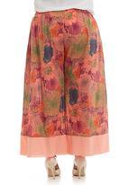 Ilan - Floral wide-leg pants