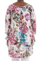 Megalo - Floral swing top Multi-colour