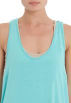 edit - Drapey vest in blue