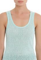 STYLE REPUBLIC - Slub knit vest in blue