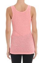 STYLE REPUBLIC - Slub knit vest in pink