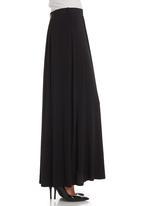 edit - Pleated skirt in black