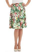 edit - Dance skirt in multi-colour