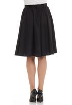 edit - Full dance skirt in black