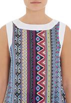 adam&eve; - Cami with aztec print in multi-colour