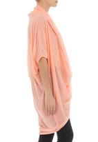 MICHELLE LUDEK - Draped top Coral