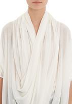 MICHELLE LUDEK - Draped top White