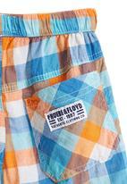 Phoebe & Floyd - Multi-colour check shorts