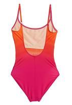 Sun Things - Ombre strappy costume Orange