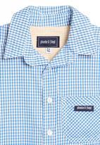 Phoebe & Floyd - Blue short-sleeve shirt