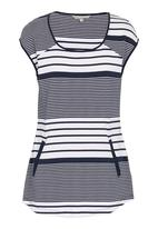 YARRA TRAIL - Navy tunic with stripes