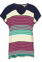 YARRA TRAIL - Colourblocked T-shirt with stripes
