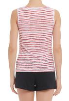 COCOA HM - Knit pajama set Red