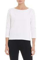 STYLE REPUBLIC - Knit sweater in white