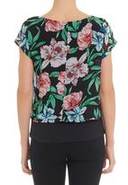 STYLE REPUBLIC - Double layer blouse in multi-colour