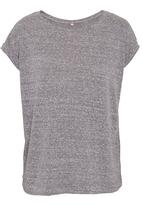 STYLE REPUBLIC - Sports luxe tee in grey