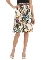 Mishah - High-waisted printed skirt Multi-colour