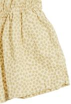Sticky Fudge - Amy dress in maize with floral print