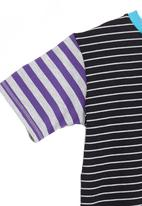 Eco Punk - T-shirt with stripes