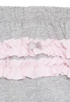 Eco Punk - Grey harem pants with ruffle