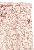 POLO - Skirt with floral print
