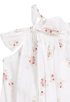 Tic Tac Toe - Onesie with summer posie print