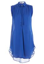 Mishah - Sleeveless tunic Blue