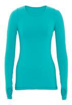 F.I.T Clothing - Green long-sleeve top