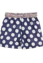 Eco Punk - Shorts with blue spots