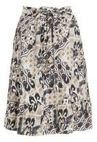 AMANDA LAIRD CHERRY - Pato aztec printed skirt