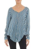RVCA - Manisa long-sleeve summer blouse