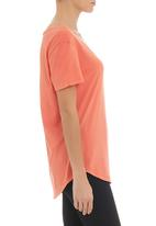 RVCA - VA ball point pigment scoop tee