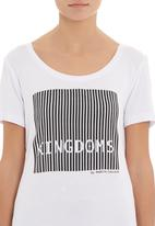 MARETHCOLLEEN - Kingdom T-shirt White