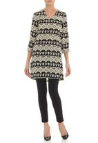CRAVE - Aztec-printed tunic