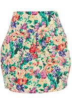 adam&eve; - Floral tulip skirt Multi-colour
