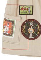 Hooligans - Safari passport shorts