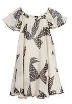 Pringle of Scotland - Printed maxi dress with bow