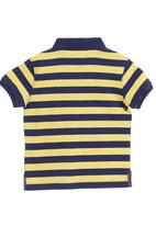 POLO - Yellow golf T-shirt