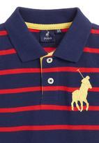 POLO - Navy golf T-shirt